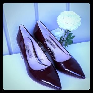 Shoes - Zara shoes color red burgundy size 38